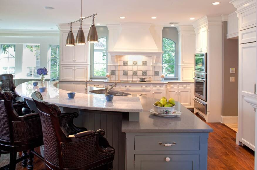 kitchens with islands photo gallery baehr residence architect magazine 3 8793