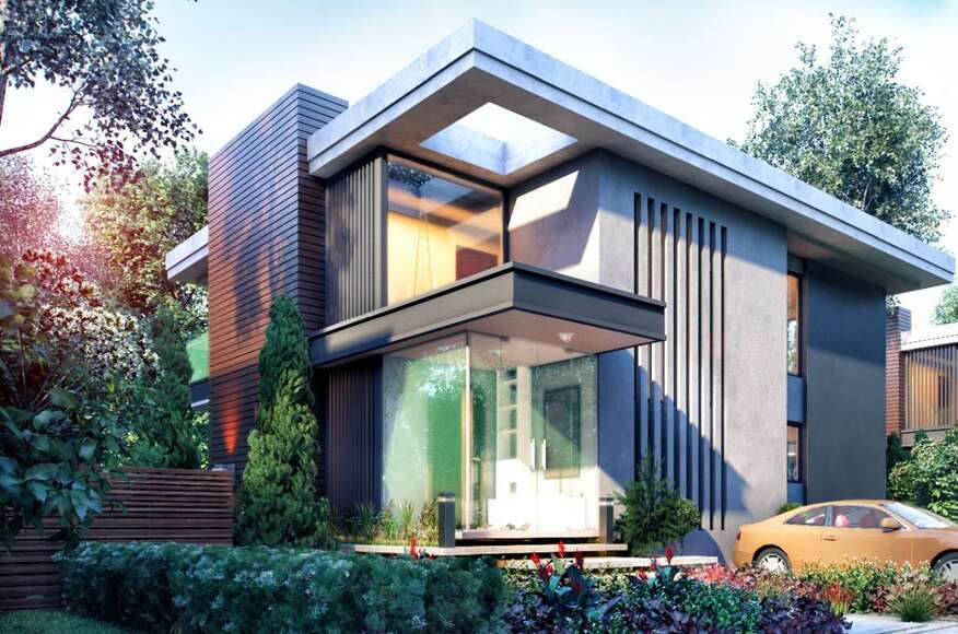 Orkut ersezgin g zelbah e villa architect magazine for Villa concept construction vedene