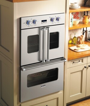 Viking range introduces french door cuisine remodeling for High end wall ovens