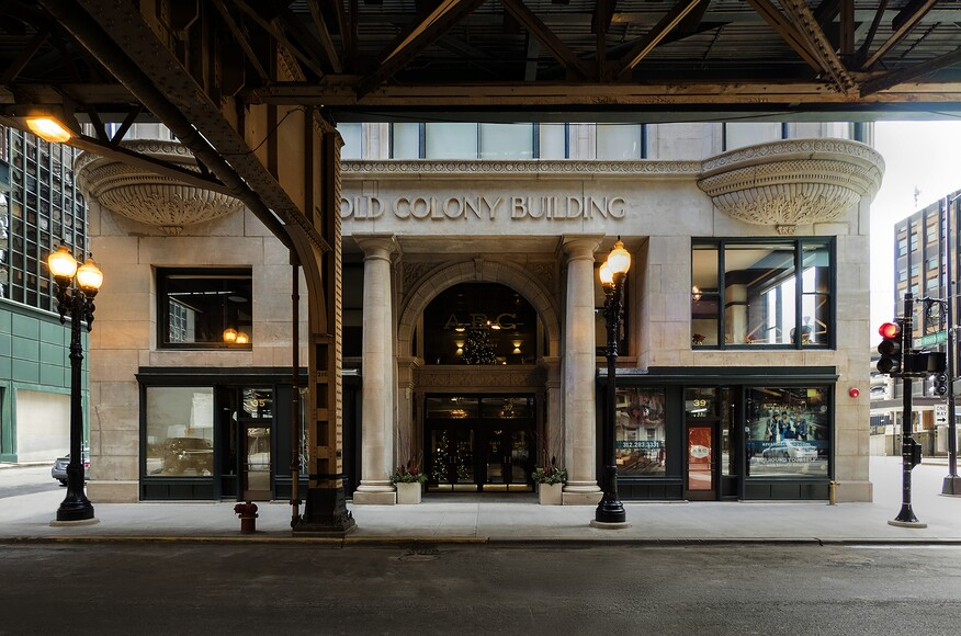 Colony Developers Llc : Arc at old colony architect magazine chicago il