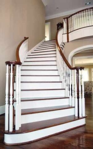 Building a Curved Stairway | JLC Online | Staircases, Framing, Walls