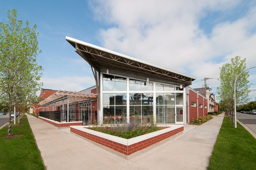 Oakwood shores clubhouse architect magazine chicago for Residential clubhouse designs