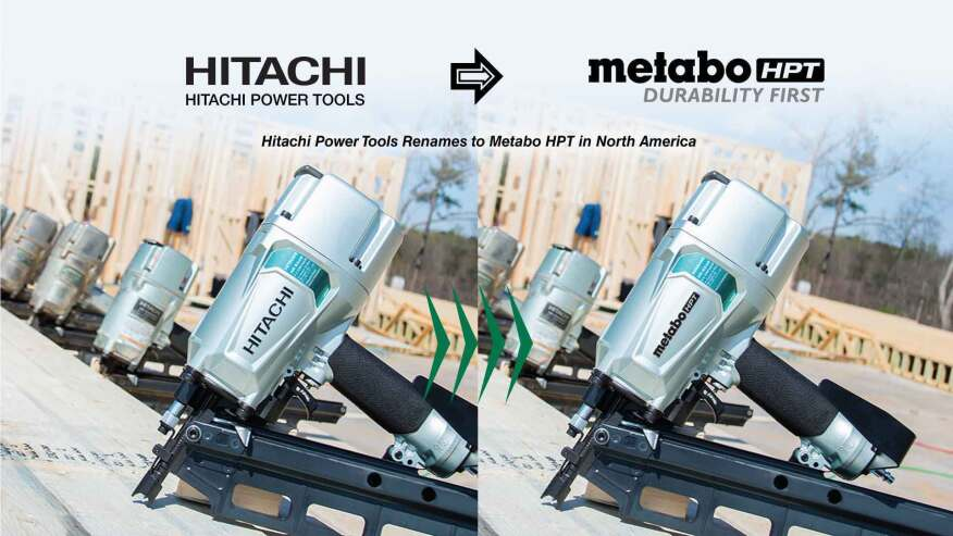 Hitachi Power Tools Gets A New Name Tools Of The Trade Power