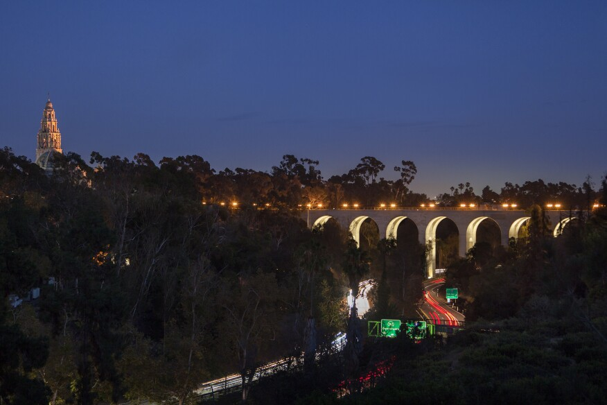 Cabrillo Bridge Architectural Lighting Magazine