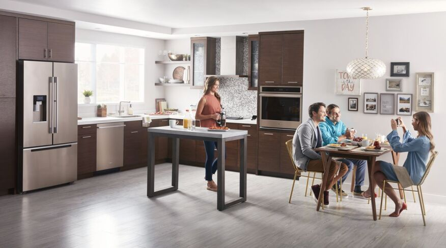 Whirlpool Kitchen Suite Whirlpool introduces sunset bronze kitchen suite builder magazine the sunset bronze finish will be available for a number of whirlpool appliances including refrigerators workwithnaturefo