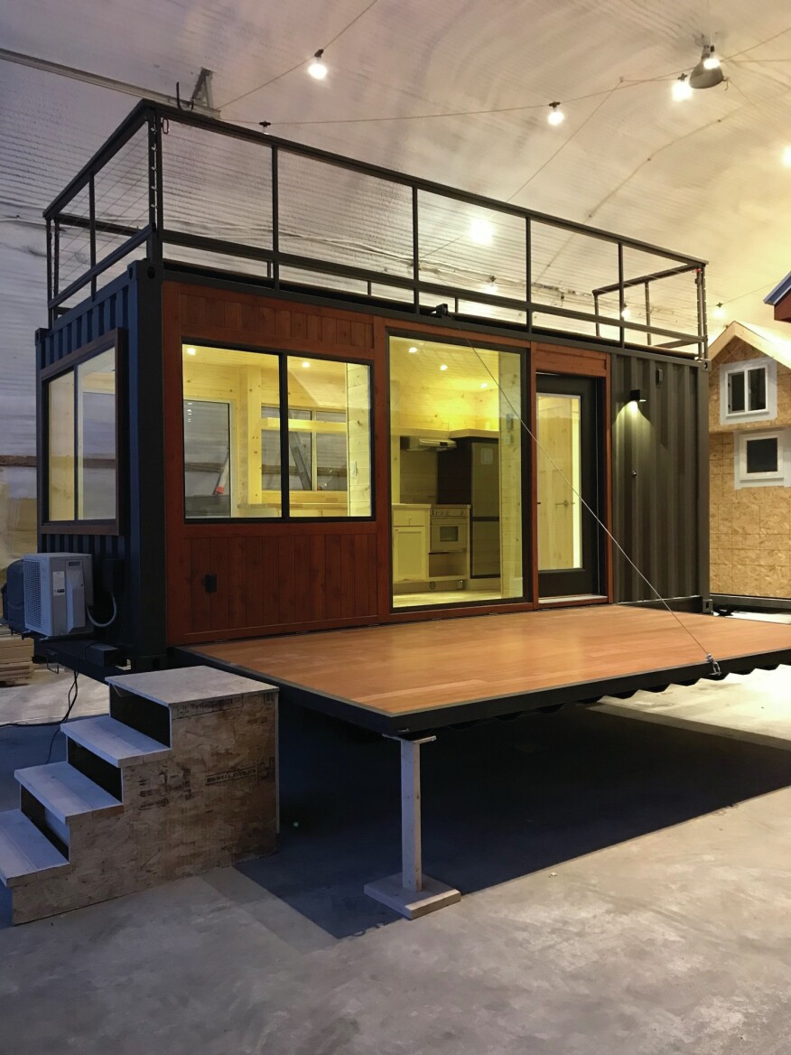 Escape Homes Debuts First Shipping Container Home Builder Magazine