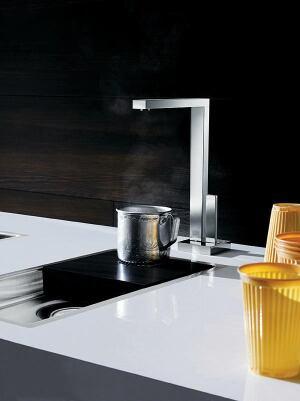 Dornbracht Hot Water Dispenser | Custom Home Magazine | Kitchen ...
