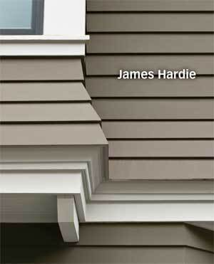 James Har Fastens Its Latest Fiber Cement Trim Boards Invisibly With The Concealed Fastening System Which Uses Hartrim Flat Tabs And Corner To