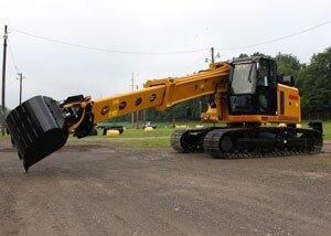 Gradall Industries V excavators with Volvo Engines| Concrete