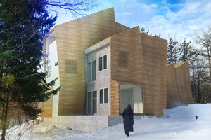 Waterfall House Architect Magazine Epiphyte Lab Manlius Ny
