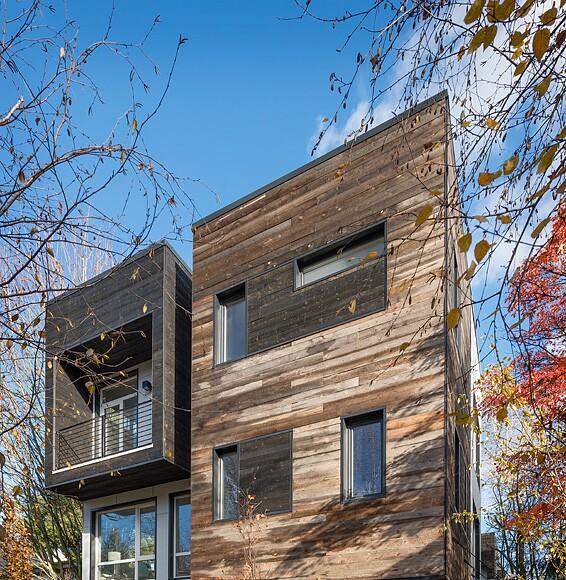 Eco Urban Home In Seattle Washington: B9 Architects, Seattle