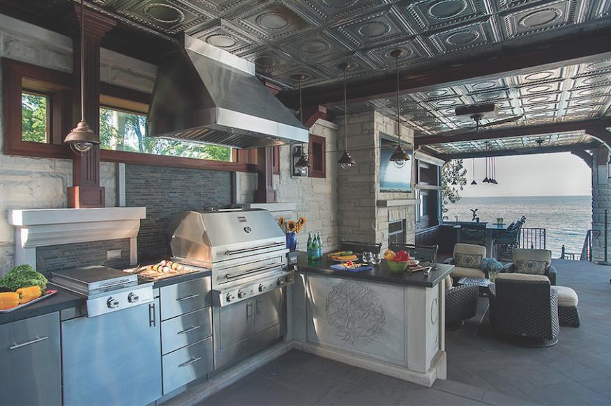 Designing Outdoor Kitchens Remodeling
