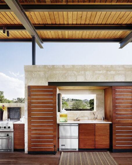 25 Of The Most Gorgeous Outdoor Kitchens: Indoor-Outdoor Kitchens