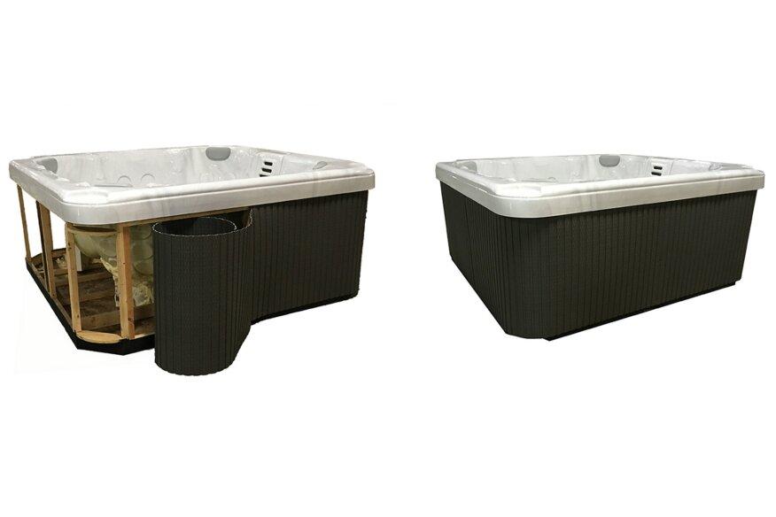 Kit Jacuzzi.Confer Plastics Debuts The Flexible Spa Panel Kit Pool Spa News