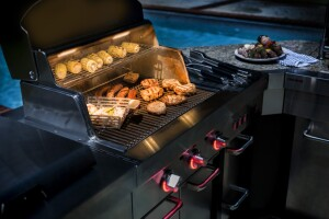 prefab outdoor kitchen small courtesy charbroil offers affordable modular outdoor kitchen builder