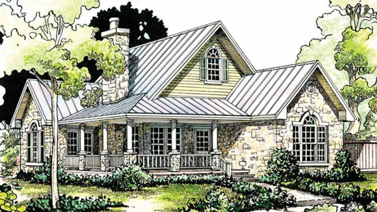 FourPlans: A Touch of Rustic Style   Builder Magazine   Design ... on cobblestone house designs, tower house designs, small stone house designs, sandstone house designs, modern stone house designs,