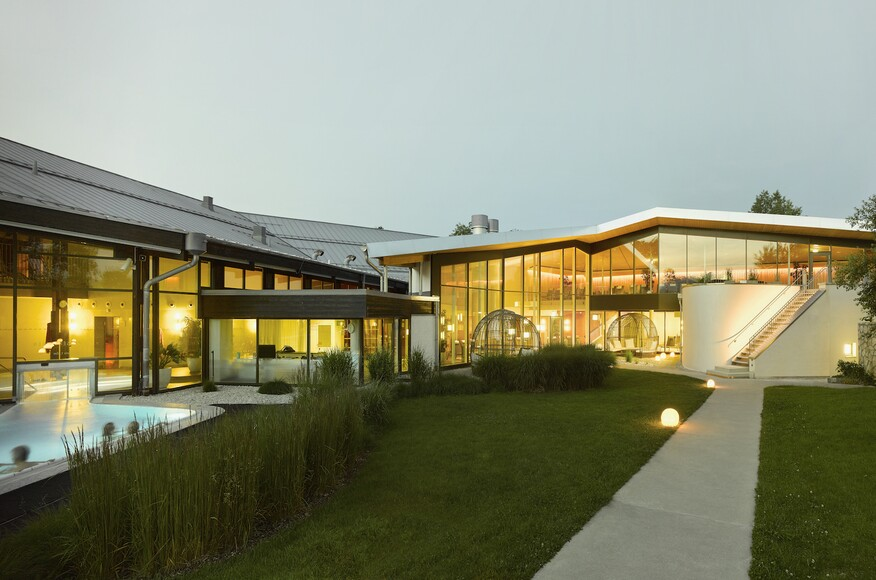 Bad Aibling Thermal Baths and Spa Extension   Architect Magazine ...