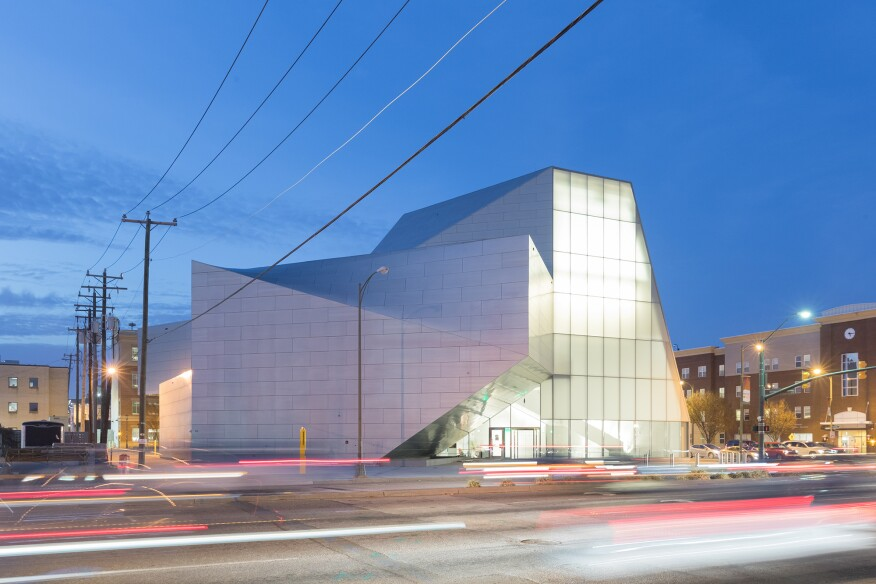 The Institute For Contemporary Art By Steven Holl