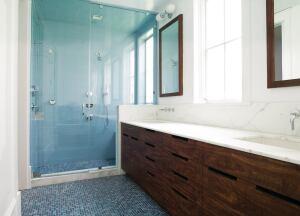 Pacific Heights Townhouse Bath San Francisco Custom Home Magazine - Bathroom remodel fremont ca