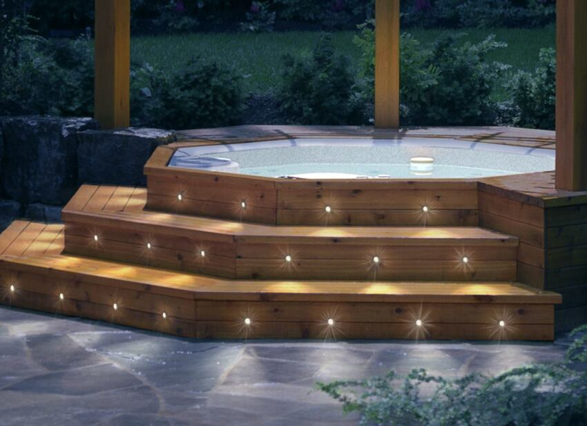 6 led deck lighting systems ecobuilding pulse magazine