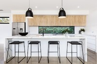 Waterfall Countertops Continue to Gain Momentum in Kitchens