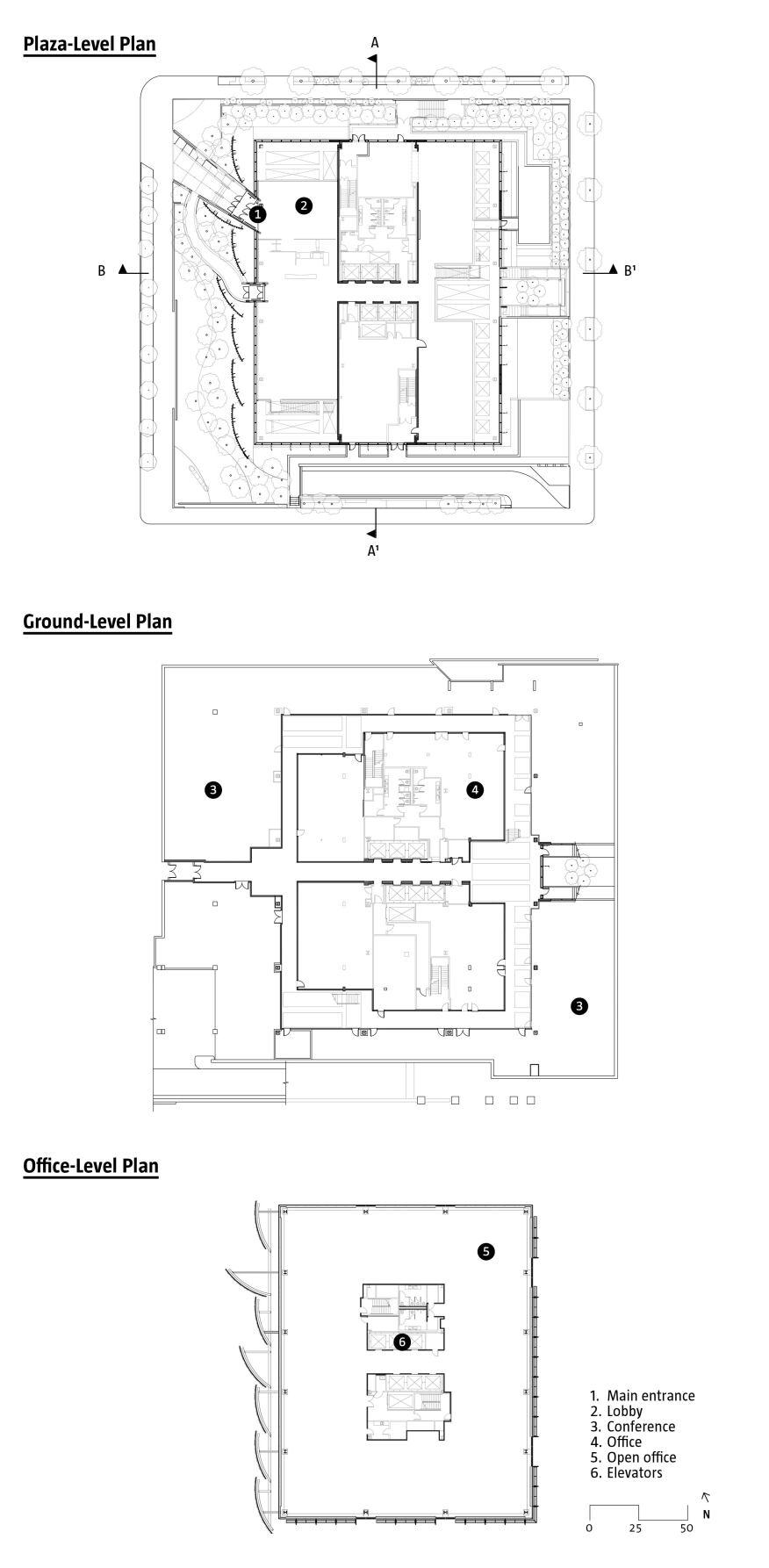 Edith green wendell wyatt federal building designed by for Jim cutler architect
