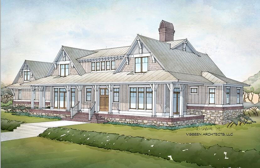 fourplans: visbeen architects looks south   builder magazine   plans