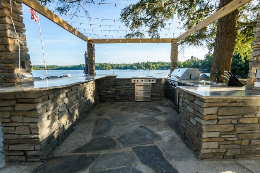 Outdoor Kitchens Made Easy| Pool & Spa News | Outdoor ... on Outdoor Living Pool And Spa id=83512