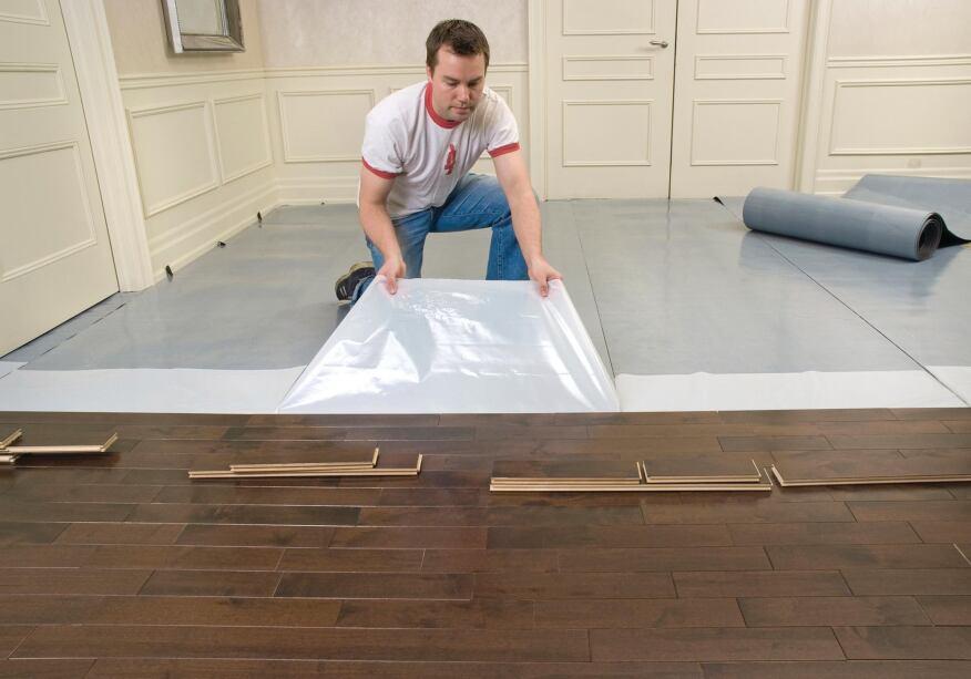 Elastilon self adhesive underlayment builder magazine for Installing 3 4 inch hardwood flooring