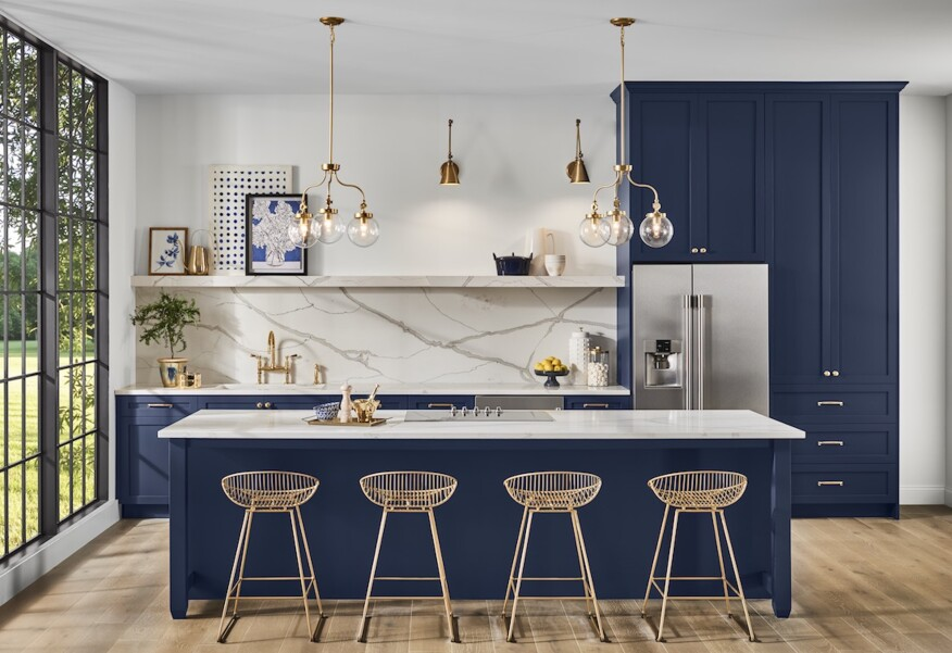 Naval Is Sherwin Williams 2020 Color Of The Year Builder