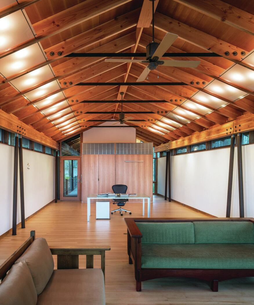 Catskills guest house and artist studio designed by for Anderson architects