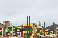 "Cullum Homes Stacks""Lego样""在斯科茨代尔,Ariz的绝缘混凝土形式。"
