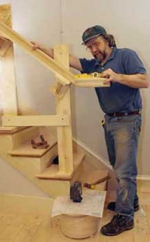 Installing an Over-the-Post Handrail - Part One | JLC Online