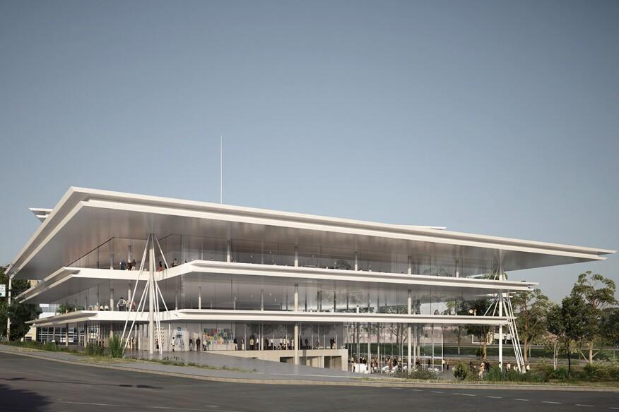 Roadside Modernism How Good Design Is Hitting The High Plains Architect Magazine