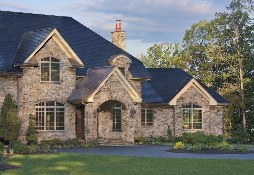 Stone Veneer Has Been A Busy Product Category In Recent Years With Manufacturers Reporting Double Digit Growth From Siding Accents To Fireplaces