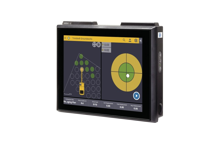 Trimble Groundworks Machine Control System