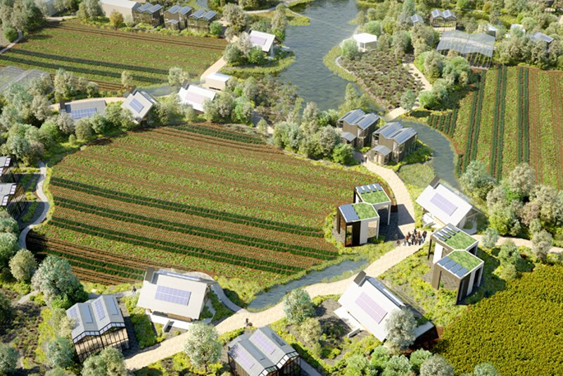 The Netherlands Will Soon Be Home to a Self-Sustaining Eco Village | Architect Magazine