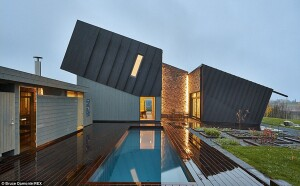 A Solar Powered Home With A Sauna Architect Magazine Green