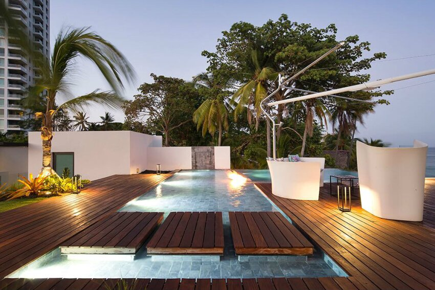 Slideshow Tropical Sleek Pool Amp Spa News