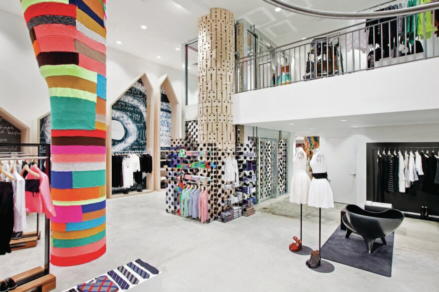 Dover Street Market New York Makes A Serious Fashion Statement Architect Magazine Projects