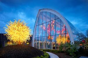 chihuly garden and glass - Glass Garden Seattle