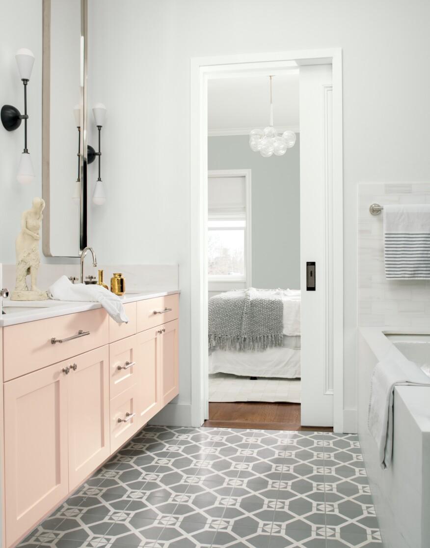 mesmerizing bathroom paint colors 2020 | Benjamin Moore's 2019 Color of the Year Is 'Metropolitan ...