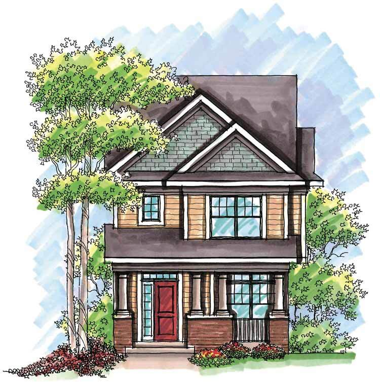FourPlans: Ultra-Narrow House Plans | Builder Magazine on house with side load garage, french country house plans with rear garage, large house plans with rear garage, narrow lot traditional house plan, narrow houses floor plans, narrow lot houses with garage in back, narrow small houses, narrow house designs, narrow townhouse plans with garage, cottage home plans with garage, rancher house plans side garage, narrow house plans with front garage, narrow homes, pool house with garage, narrow lot rooftop deck, narrow space bathroom towers, narrow lot modern house, narrow house plan big lots, narrow house plans with side entry garage,