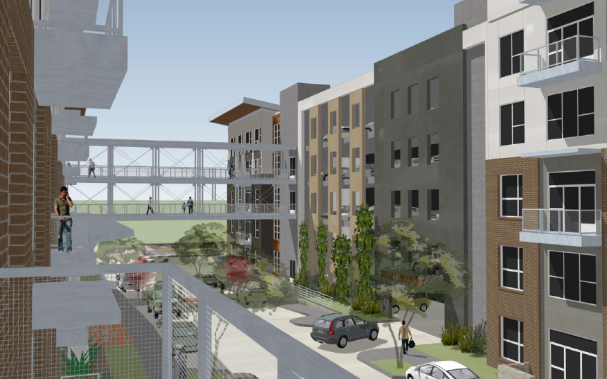 Jhp Designed Oleander Apartments Will Straddle Two City Blocks In Fort Worth