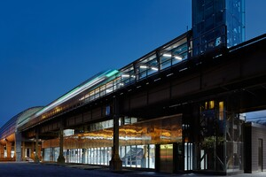 CTA Cermak-McCormick Place Station   Architect Magazine