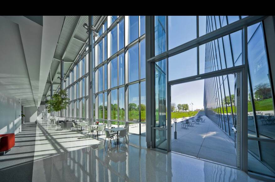 One Haworth Center Architect Magazine Perkins Will Holland Mi United States Office Leed