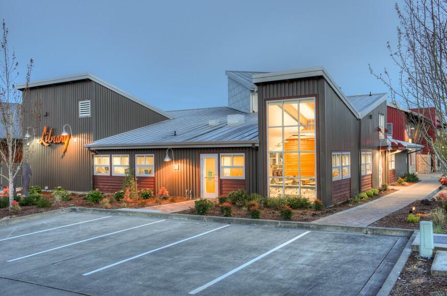 Camano island library remodel architect magazine for Northwest architects