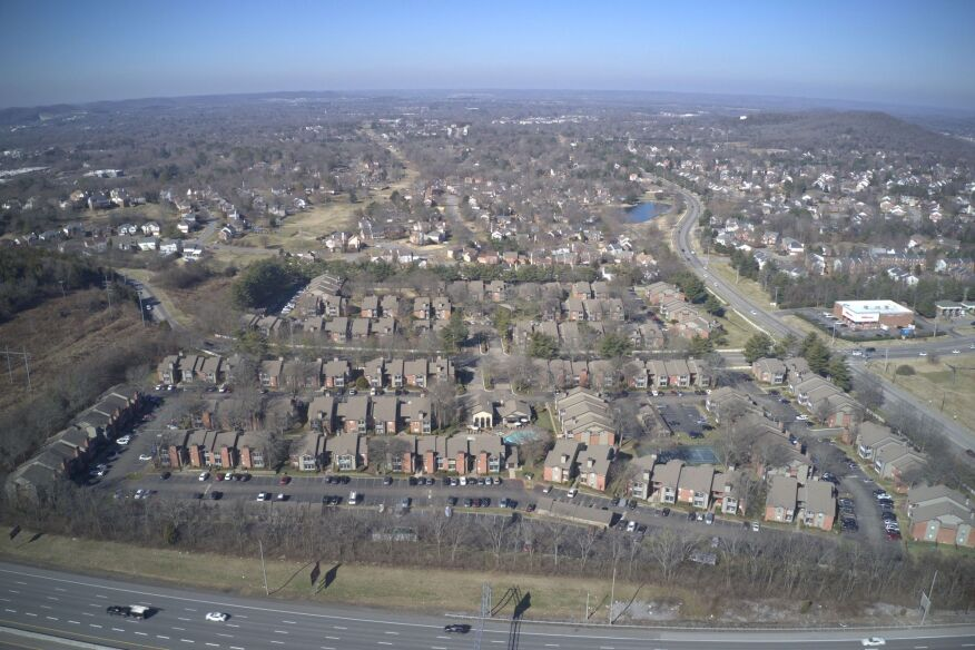 Viera Cool Springs provides 468 one- and two-bedroom units on a low-density 36.5-acre site in Franklin, Tennessee.