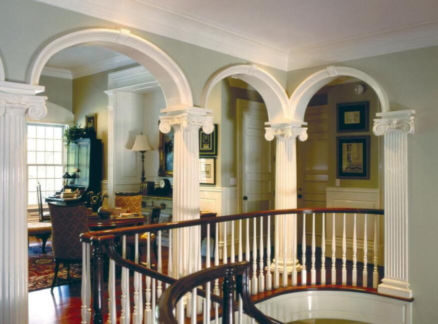 Interior trim products from carolina stair crown column for Interior trim materials