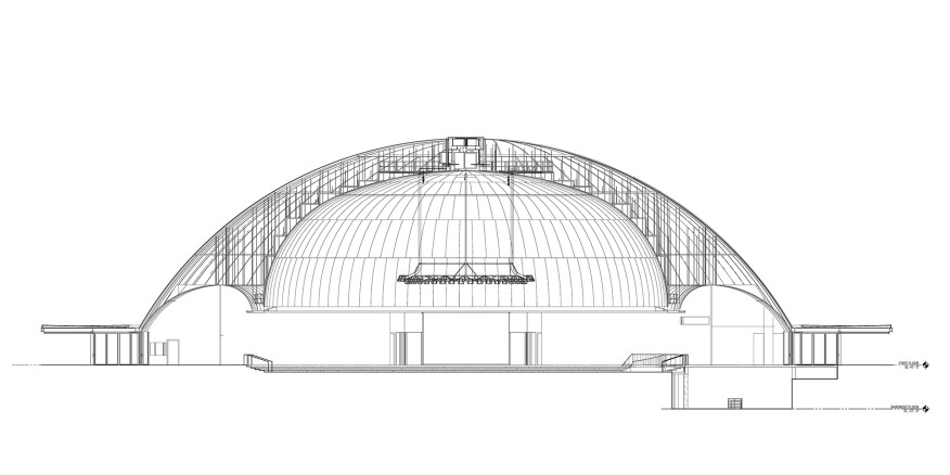 Resurrecting Eero Saarinens Design Dome At General Motors